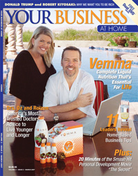 Vemma Your Business At Home Cover